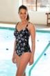 Chlorine Resistant TYR Boca Controlfit Plus Size Twist Front One Piece Swimsuit