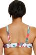 Fashion to Figure Martinique Floral Sweetheart Cut Out Bikini Top