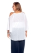 Always For Me White Flirty Plus Size Cover Up Dress