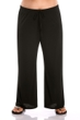 Always For Me Black Plus Size Lounge Pant