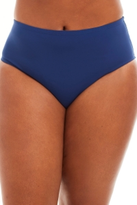 Bleu Rod Beattie Navy Plus Size High Waist Tankini Bottom