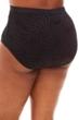 Jessica Simpson Black Plus Size Crochet High Waist Tankini Bottom