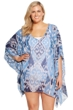 Always For Me Denim Plus Size Cover Up Caftan