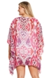 Always For Me Fuschia Plus Size Cover Up Caftan