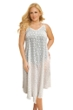 Always For Me Clipped Jacquard White Plus Size V-Bottom Cover Up Dress
