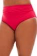Anne Cole Berry Plus Size Convertible Shirred Tankini Bottom