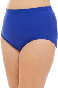 Penbrooke Royal Blue Plus Size High Waist Tankini Bottom