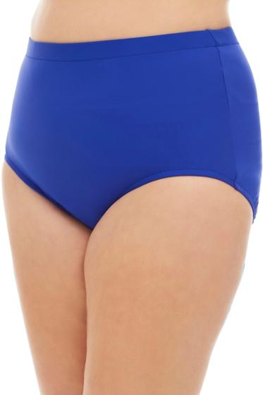 Penbrooke Royal Blue Plus Size High Waist Tankini Bottom