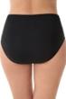 Penbrooke Black Plus Size Shirred Tankini Bottom