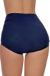 Shape Solutions Navy Plus Size Girl Leg Brief Swim Bottom