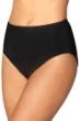 Magicsuit Black Plus Size Classic Brief Swim Bottom