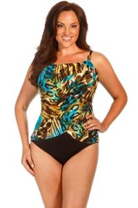 Magicsuit Vixen Plus Size Lisa Underwire One Piece Swimsuit