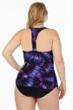 Magicsuit Culture Club Plus Size Katrina Keyhole High Neck One Piece Swimsuit