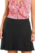 Always For Me Black Plus Size Cover Up Skirt