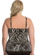Miraclesuit Plus Size Hard To Be Leaf Love Knot Underwire Tankini Top