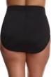 Miraclesuit Black Plus Size Classic Brief Tankini Bottom