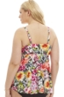 Always For Me by Penbrooke Tropic Plus Size Underwire Tankini Top