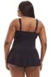 Always For Me Black Plus Size Raquel Swimdress