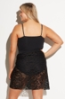 Always For Me Black Plus Size Escape Sarong Cover Up