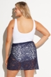 Always For Me Navy Plus Size Escape Sarong Cover Up