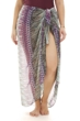 Always For Me Plum Dream Plus Size Pareo Sarong Cover Up