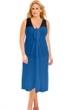 Always For Me Sun Diva Denim Plus Size Long Pareo Cover Up
