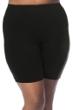 Always For Me Fit 4U Swim Black Plus Size Fit 4 Ur Hips Swim Bike Short