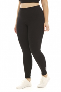 A Big Attitude Black Plus Size Ankle Legging