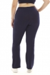 A Big Attitude Navy Plus Size Yoga Pant