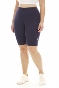 A Big Attitude Navy Plus Size Bike Short