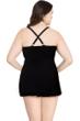 Profile by Gottex Shibori Plus Size Halter Swimdress