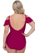 Profile by Gottex Tutti Frutti Ruby Plus Size Off the Shoulder Ruffle One Piece Swimsuit