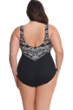 Longitude Mazunte Plus Size Scoopback High Neck One Piece Swimsuit
