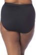 La Blanca Black All Meshed Up Plus Size Hi-Rise Swim Bottom
