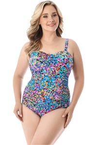 Longitude Star Quality Plus Size Lingerie One Piece Swimsuit
