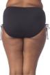 Kenneth Cole Solid Black Plus Size Adjustable High Waist Tankini Bottom