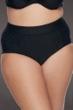 SKYE Plus Size Solid Black Waverly High Waist Bikini Bottom