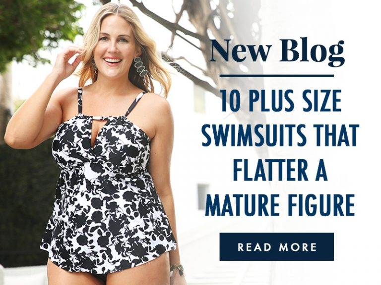 10 Plus Size Swimsuits that Flatter a Mature Figure