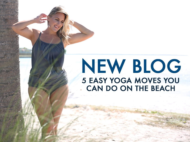 5 Easy Yoga Moves You Can Do On The Beach
