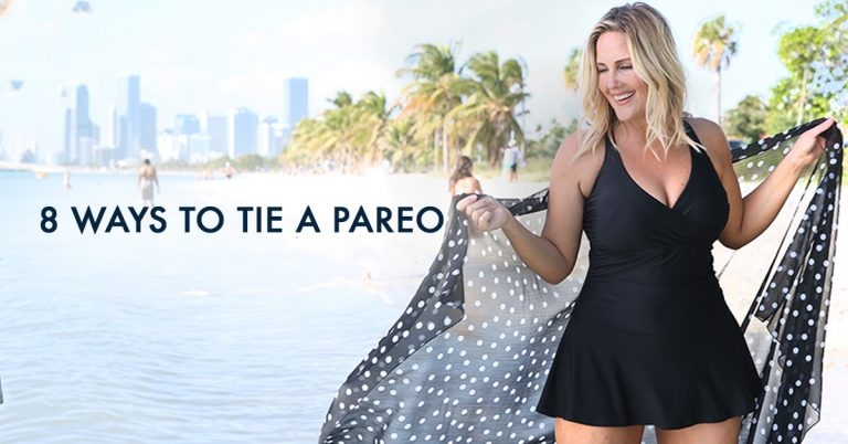 8 Ways to Style a Pareo or a Sarong