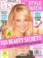 People Style Watch Magazine Cover May 2008