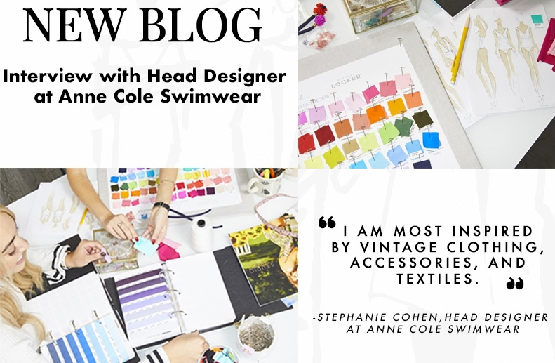 Always for Me Interview with Stephanie Cohen – Head Designer at Anne Cole Swimwear