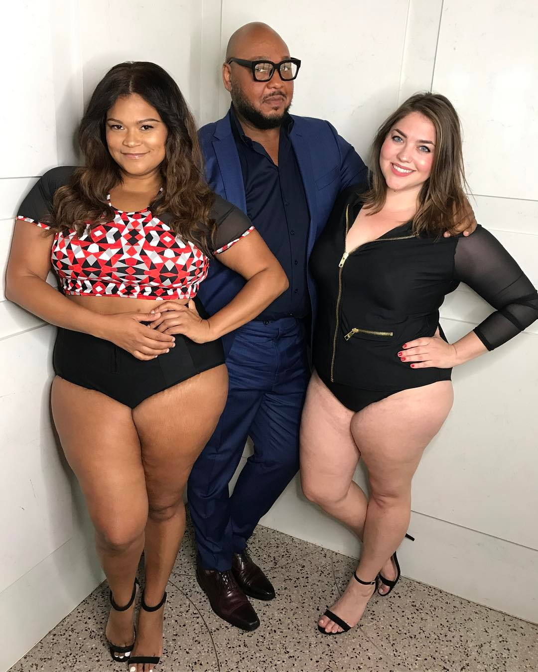 Rave Reviews for Celebrity Stylist Timothy Snell's Plus Size Swimwear and Sportswear Collection
